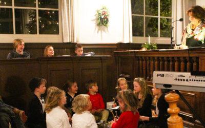Kinderdienst op Kerstavond