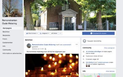 Remonstranten Oude Wetering op Facebook